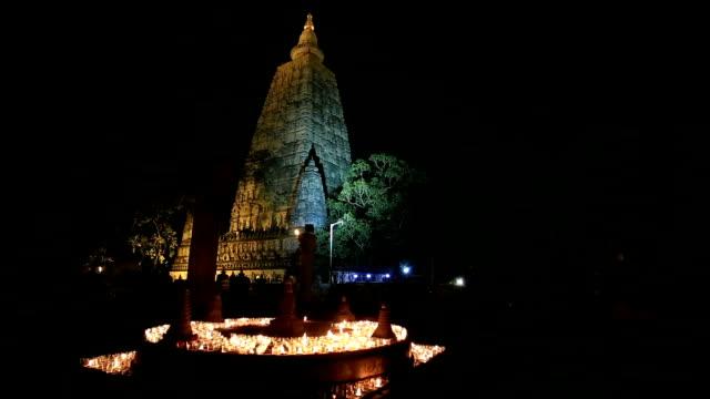 mahabodhi temple - buddha stock videos & royalty-free footage