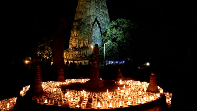 mahabodhi temple - hinduism stock videos & royalty-free footage