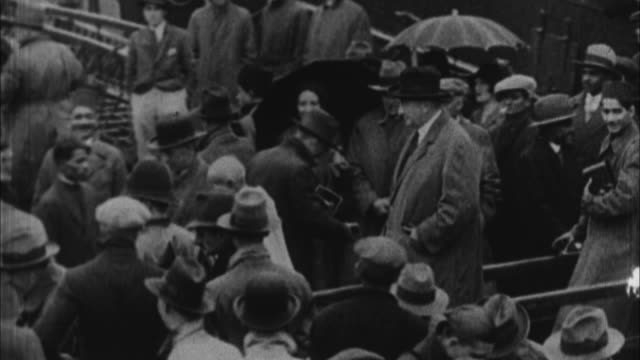 mahatma gandhi arriving to england / england - 1931 stock videos & royalty-free footage