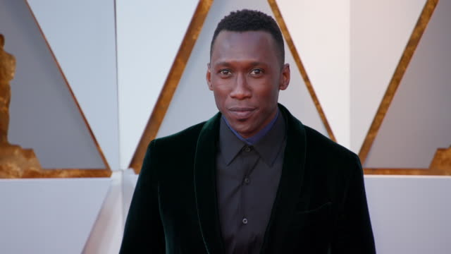 mahershala ali at the 90th academy awards at dolby theatre on march 04 2018 in hollywood california - best supporting actor stock videos & royalty-free footage