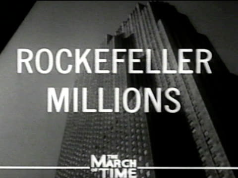 mail clerk man delivering mail to rockefeller foundation executive offices africanamerican receptionist cu letters envelopes being sorted addressed... - rockefeller center video stock e b–roll