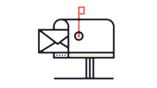 mailbox icon animation - mailbox stock videos and b-roll footage