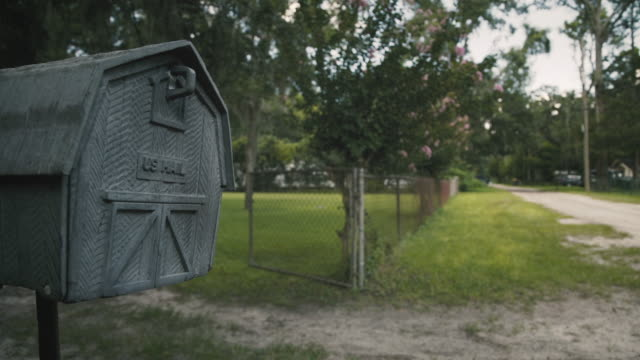 mailbox on a dirt road - letterbox stock videos & royalty-free footage