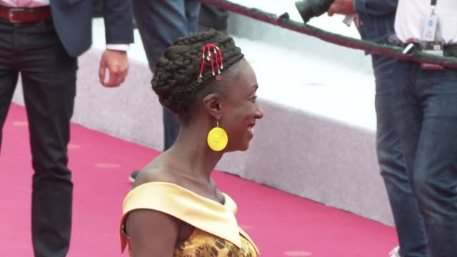 Maimouna N'Diaye at 'A Hidden Life' Press Conference The 72nd Cannes Film Festival at Palais des Festivals on May 19 2019 in Cannes France