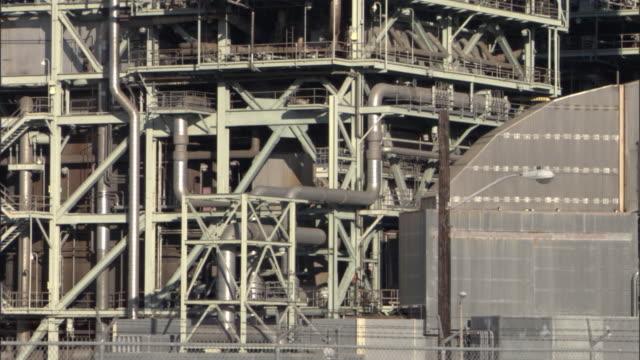 ms tu main building of el segundo power plant / los angeles, california, usa - el segundo stock videos and b-roll footage