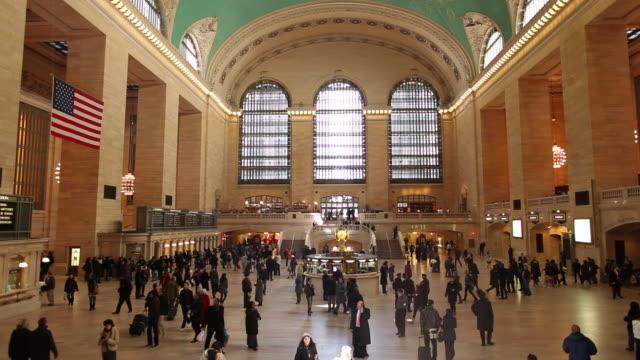 WS Main Concourse of Grand Central Terminal / New York City, New York, USA