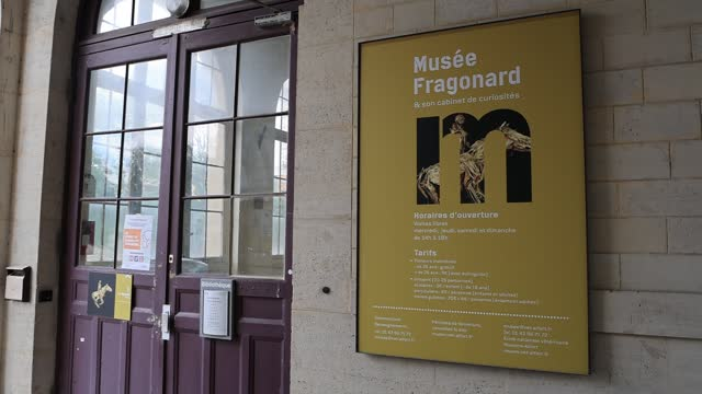 main entrance of the fragonard museum, dedicated mainly to preserved animals and anatomical oddities on july 8 in maisons alfort, france. with some... - anatomy stock videos & royalty-free footage