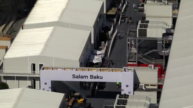 main streets and roads turned into racing circuit for formula 1 baku grand prix in baku, azerbaijan on june 20, 2017. formula 1 baku grand prix will... - grand prix motor racing stock videos & royalty-free footage