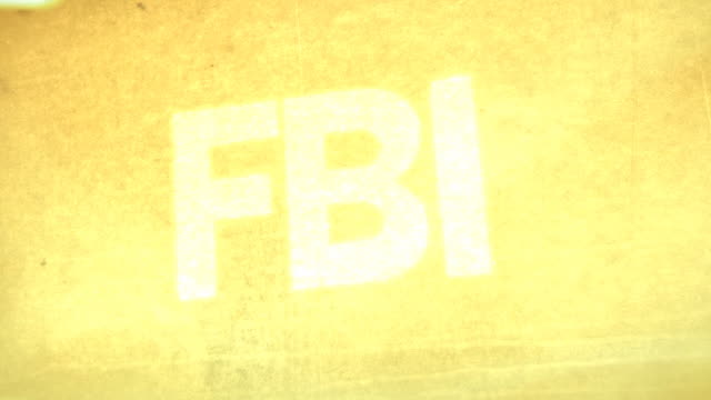 fbi, cia, nsa main titles - classified ad stock videos & royalty-free footage