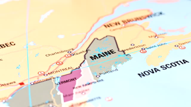 maine from usa states - maine stock videos & royalty-free footage