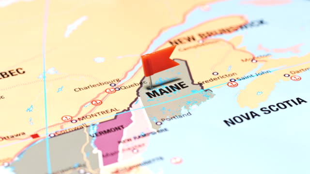 maine from usa states - augusta maine stock videos & royalty-free footage