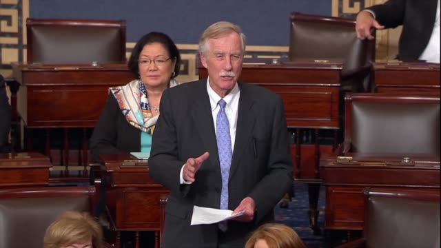 Maine Senator Angus King urges adoption of an amendment to immigration reform since President Donald Trump called on Congress to come up with a...