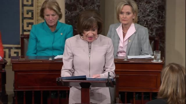 Maine Senator Susan Collins says in debate on confirming Judge Brett Kavanaugh to the Supreme Court that in a dissent in Seven Sky vs Holder...