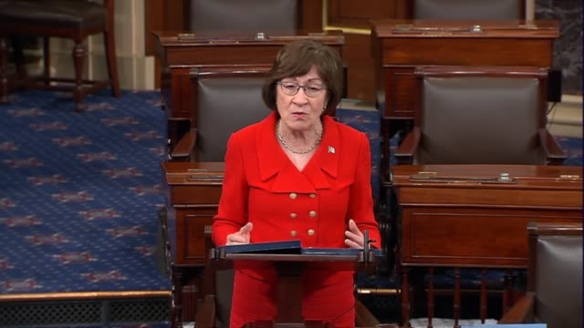 maine senator susan collins says on day 26 of a partial government shutdown that outlines for compromise are evident that congress must assure... - day26 stock videos & royalty-free footage