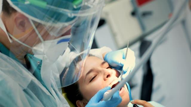 maintaining beautiful smile - dental hygiene stock videos & royalty-free footage