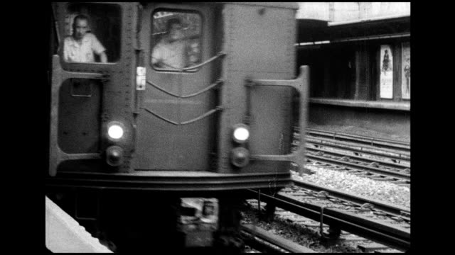 1966 maintenance on nyc subway cars - 1966 stock videos and b-roll footage
