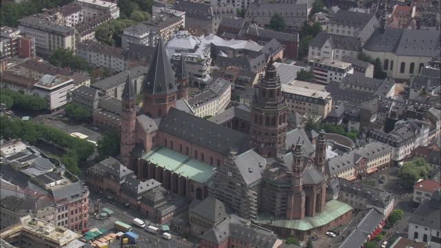 mainz cathedral - rhineland palatinate stock videos & royalty-free footage