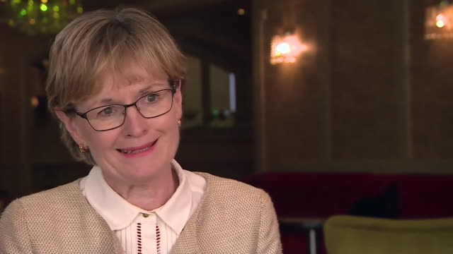 mairead mcguinness mep vicepresident of the european parliament expresses concerns that brexit negotiations are being 'managed or influenced by the... - 市民点の映像素材/bロール