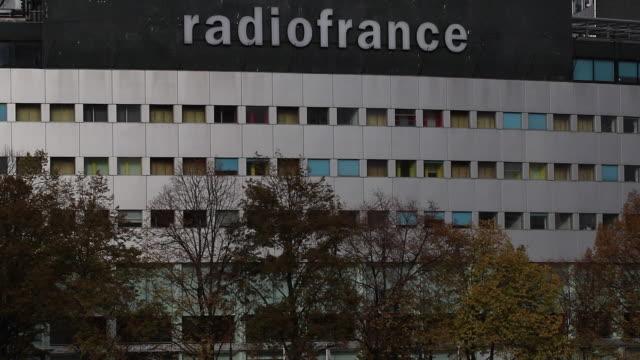 vidéos et rushes de maison de la radio, radio france - poste de radio