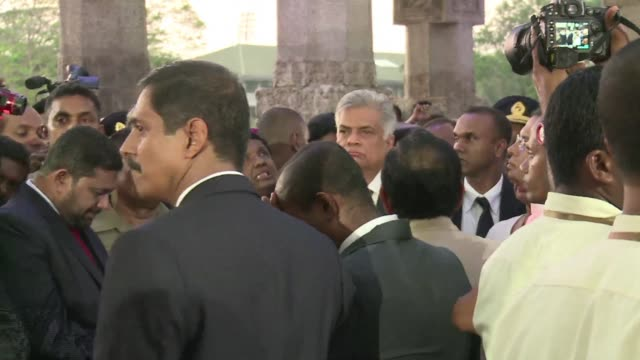 maithripala sirisena was sworn in as sri lankan president friday after a shock victory over veteran strongman mahinda rajapakse in an election... - strongman stock videos & royalty-free footage