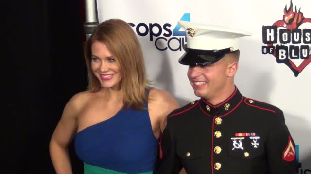 maitland ward arriving at cops 4 causes 2nd annual heroes helping heroes benefit concert at house of blues in west hollywood 09/11/13 maitland ward... - maitland ward stock-videos und b-roll-filmmaterial