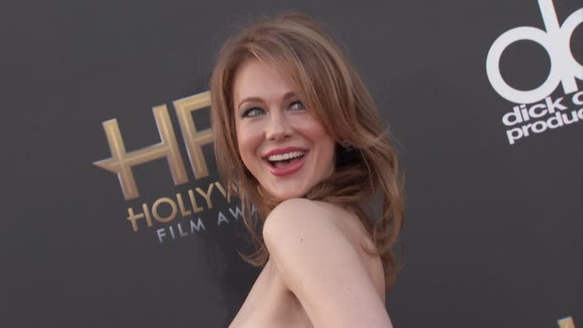 vídeos de stock, filmes e b-roll de maitland ward at the 2014 hollywood film awards in los angeles ca - maitland ward