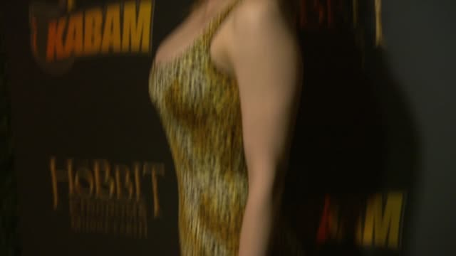 maitland ward at the hobbit the desolation of smaug expansion pack hits the red carpet in los angeles ca - maitland ward stock-videos und b-roll-filmmaterial