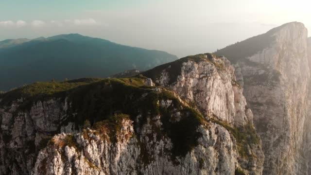 majestic mountains in slovenia - binoculars stock videos & royalty-free footage