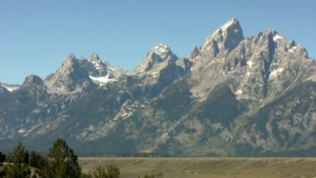 Majestic mountains watch over the Snake River valley