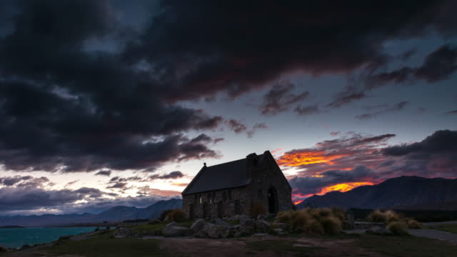 Majestic Sunrise Time Lapse at Church of the Good Shepherd