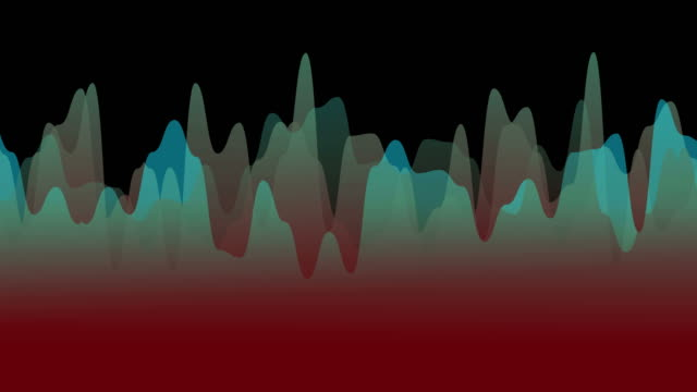 vidéos et rushes de contexte majestic waves - mèche colorée