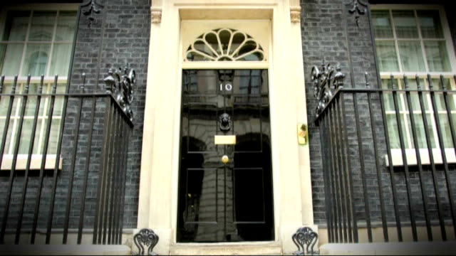 major cabinet reshuffle: more women selected / michael gove replaced as education secretary; t24061416 / tx 24.6.2014 ext timelapse / speeded up... - 内閣改造点の映像素材/bロール