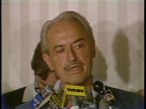 major league baseball players association representative marvin miller states that the strike started because the owners thought that the players... - sport stock videos & royalty-free footage