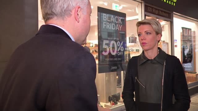 Majority of Black Friday 'deals' cheaper or same price at other times ENGLAND London EXT Alex Neill interview SOT