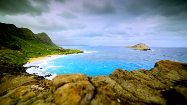 stockvideo's en b-roll-footage met makapuu-lookout, oahu - oahu