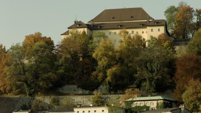 makarsteg müllnerkirche kapuzinerkloster - traditionally austrian stock videos & royalty-free footage