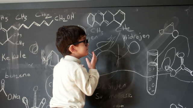 i make being a genius look like child's play - mathematics stock videos & royalty-free footage