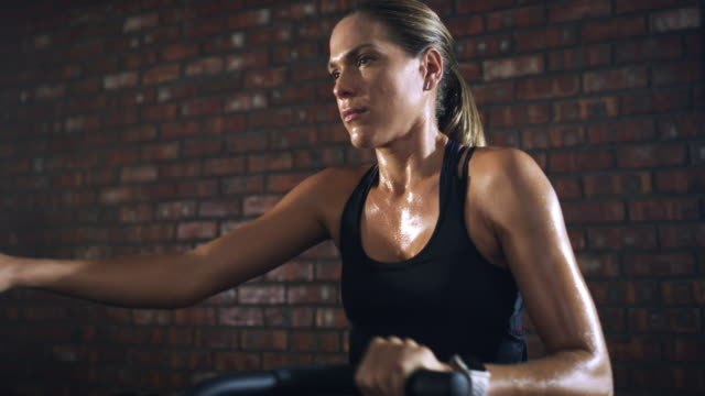 make every workout count - step video stock e b–roll