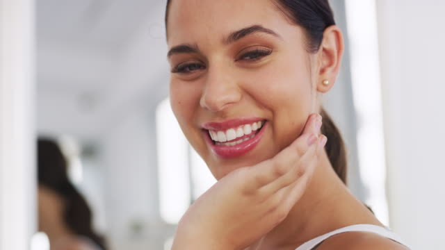 make sure you take good care of your skin - skin feature stock videos & royalty-free footage