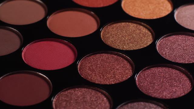軽い絵でパレットを作る - 化粧品点の映像素材/bロール