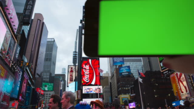 Make your own selfie Time Square Female One Person