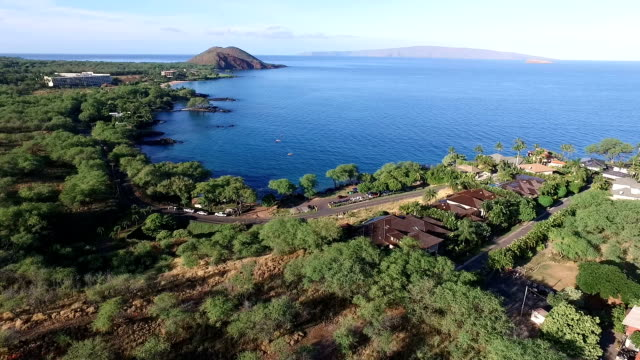 makena bay - peninsula stock videos and b-roll footage