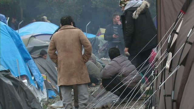 Makeshift camps in northern France are now home to thousands of migrants trying to reach the UK And they are growing with the main camp in Calais...