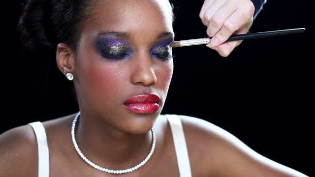 Make-up-Anwendung