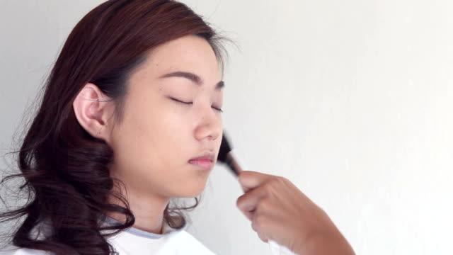 make-up artist, - self improvement stock videos & royalty-free footage