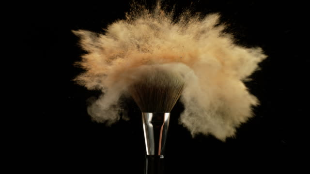 makeup brush - make up stock videos and b-roll footage