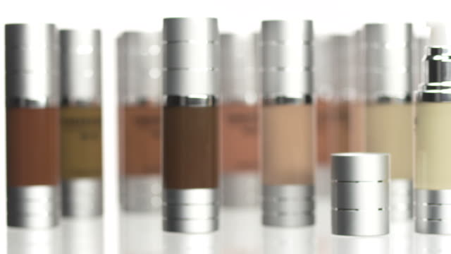 hd: makeup foundation set - bottle stock videos & royalty-free footage
