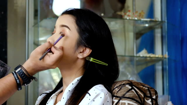 Make-up of Asian young woman
