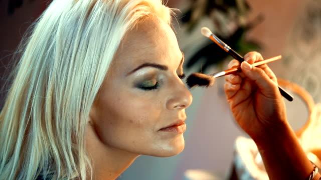 Makeup procedure.