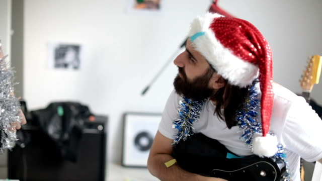 Making a Christmas song